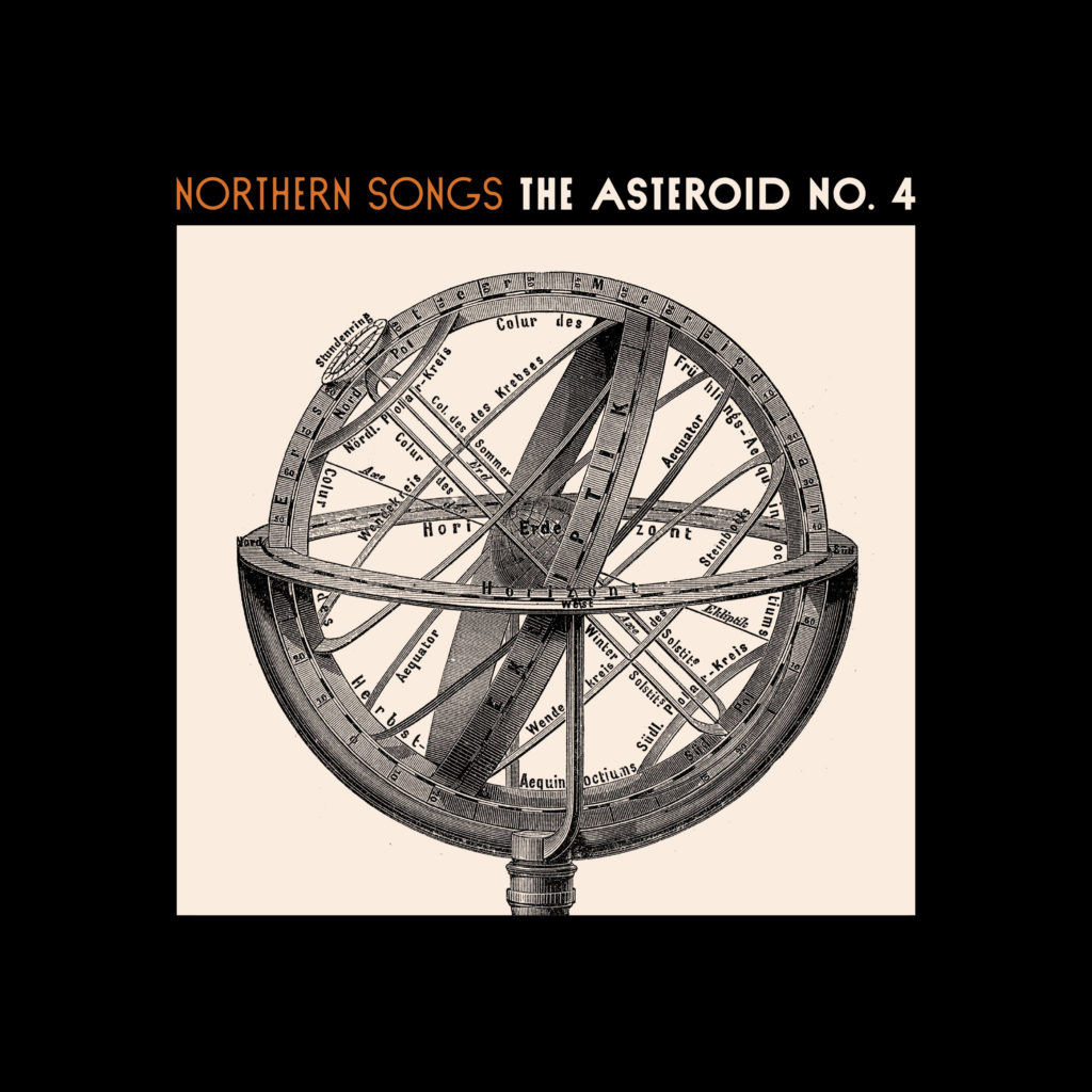Asteroid No 4 Northern Songs Album Cover
