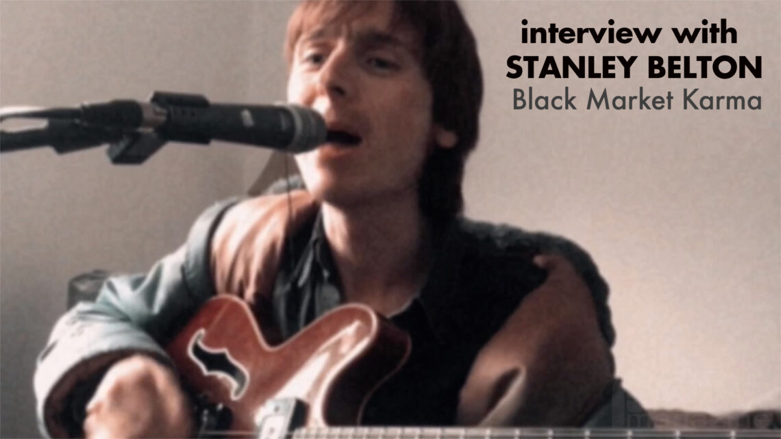 Interview with Stanley Belton from Black Market Karma